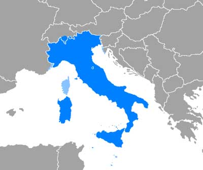 Italian Speaking Regions - Italian Voice Over Candidate Locations